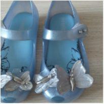 Mini Melissa borboleta azul - 22 - Melissa e Mini Melissa original