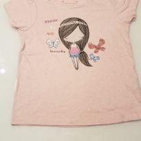 Blusa rosa malha Primark - 6 anos - Primark