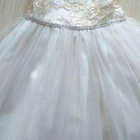 Vestido de festa Sweet Heart Rose 3 anos off white - 3 anos - Sweet Heart Rose