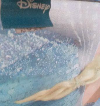 Guarda-chuva rosa e lilás Anna e Elsa Frozen Disney - Sem faixa etaria - Disney