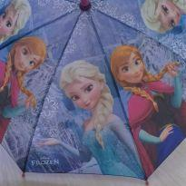 Guarda-chuva rosa e lilás Anna e Elsa Frozen Disney