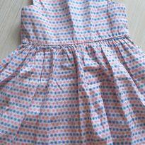 Vestido rosa e azul 2 anos - 2 anos - Gaia