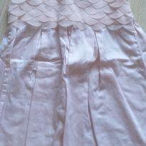 Vestido de festa rosa claro Milon 3 anos