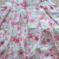 Vestido branco com flores 3 anos - 3 anos - Sem marca e sem etiqueta