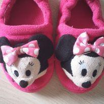 Pantufa rosa Minnie - 22 - Disney