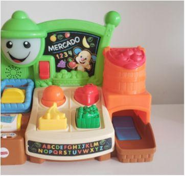 Mercado divertido Fisher Price - Sem faixa etaria - Fisher Price