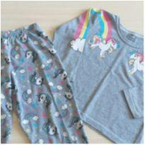 Pijama unicórnio 3 anos