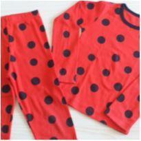 Pijama lady Bug 4 anos