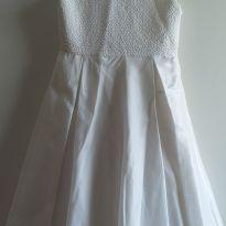 Vestido de festa branco 2 anos - 2 anos - Mio Bebê