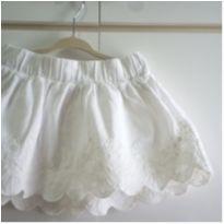 Saia branca renda Lilica Ripilica 2 anos - 2 anos - Lilica Ripilica