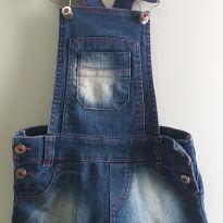 Jardineira jeans 6 anos - 6 anos - Canal da Criança