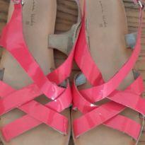 Sandália rosa Zara - 33 - Zara e Zara Kids