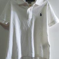 Camisa Polo Ralph Lauren branca 3 anos - 3 anos - Ralph Lauren e Polo Ralph Lauren