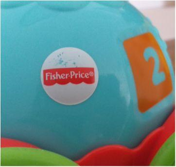 Empurra Tartaruga Fisher Price - Sem faixa etaria - Fisher Price