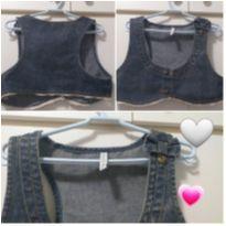 Colete jeans 10 anos - 10 anos - Alphabeto
