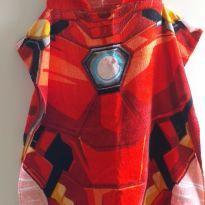 Roupão poncho Homem de Ferro - 6 anos - MARVEL