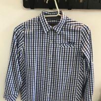 Camisa xadrez - 8 anos - DKNY