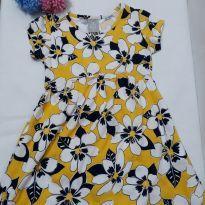 0049- vestido amarelo - 3 anos - Hering Kids