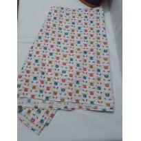 0153- lençol infantil solteiro -  - Feito à mão