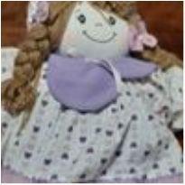 0324- boneca de pano -  - Não informada