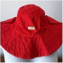0635- chapéu infantil vermelho -  - Nacional sem etiqueta