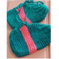 Sapato de lã para inverno - 36 - Feito à mão
