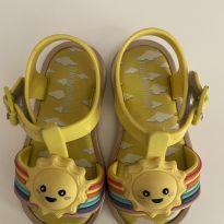 Sandália de solzinho - 19 - Mini Melissa original
