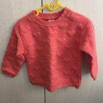 Blusa de frio (moletom) - 9 a 12 meses - H&M e H&M, Carters e C&A