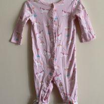 Macacão/pijama carter's - 6 a 9 meses - Carter`s e sem etiqueta