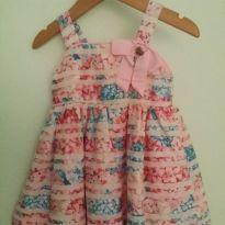 Vestidinho Borboletinhas - 9 a 12 meses - Momi