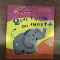 Livro: Qual é a cor do amor? -  - Brinque-Book