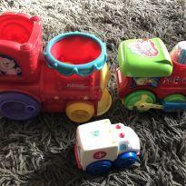 3 brinquedos menino -  - Outros e Playskool