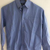 Camisa social azul tamanho 10 brooksfield - 10 anos - Brooksfield Júnior e Brooksfield
