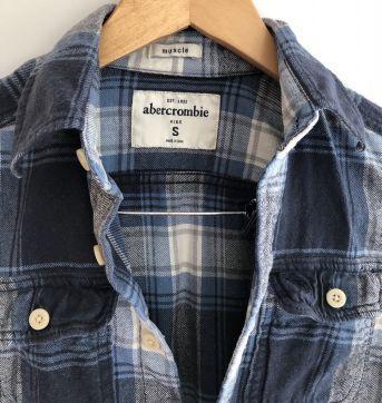 Camisa flanelada Abercrombie tamanho 8-10anos - 8 anos - Abercrombie