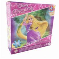 Quebra cabeça 3D princesa rapunzel 63 peças