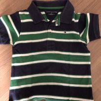 Camiseta polo Tommy tamanho 3 - 3 anos - Tommy Hilfiger