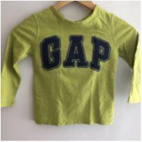 Camiseta manga longa Gap tam4 - 4 anos - GAP