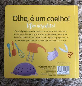 Livro: Olhe, é um coelho - Sem faixa etaria - Girassol, Editora