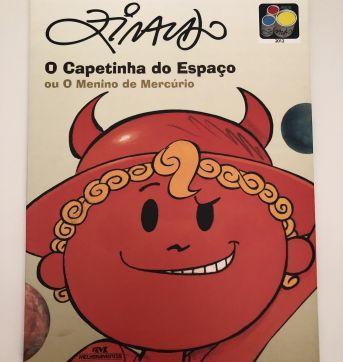 Livro: O Capetinha do Espaço - Ziraldo - Sem faixa etaria - Editora Melhoramentos