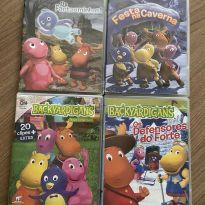 4 dvds backyardigans -  - DVD