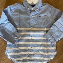 Camisa Tommy Hilfiger tamanho 18meses - 18 meses - Tommy Hilfiger