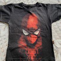 Camiseta homem aranha tamanho 4 - piticas - 4 anos - Piticas