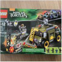 Lego Ninja turtle 79115 - 368peças - lacrado -  - Lego
