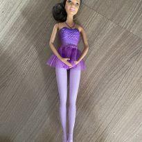 Boneca Barbie bailarina morena - mattel -  - Mattel