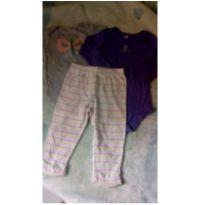 Kit body+ calça - 18 a 24 meses - Carter`s