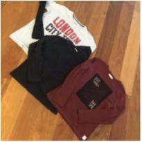 Combo camisetas manga comprida - 11 anos - Zara Boys