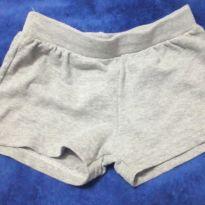 Shorts cinza - 1 ano - Não informada