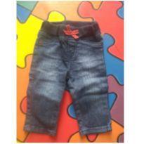 Calça jeans bebe - 0 a 3 meses - Hering Kids
