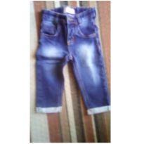 Calça jeans - 9 a 12 meses - baby Demim
