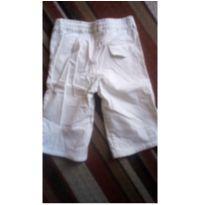 Calça de sarja branca